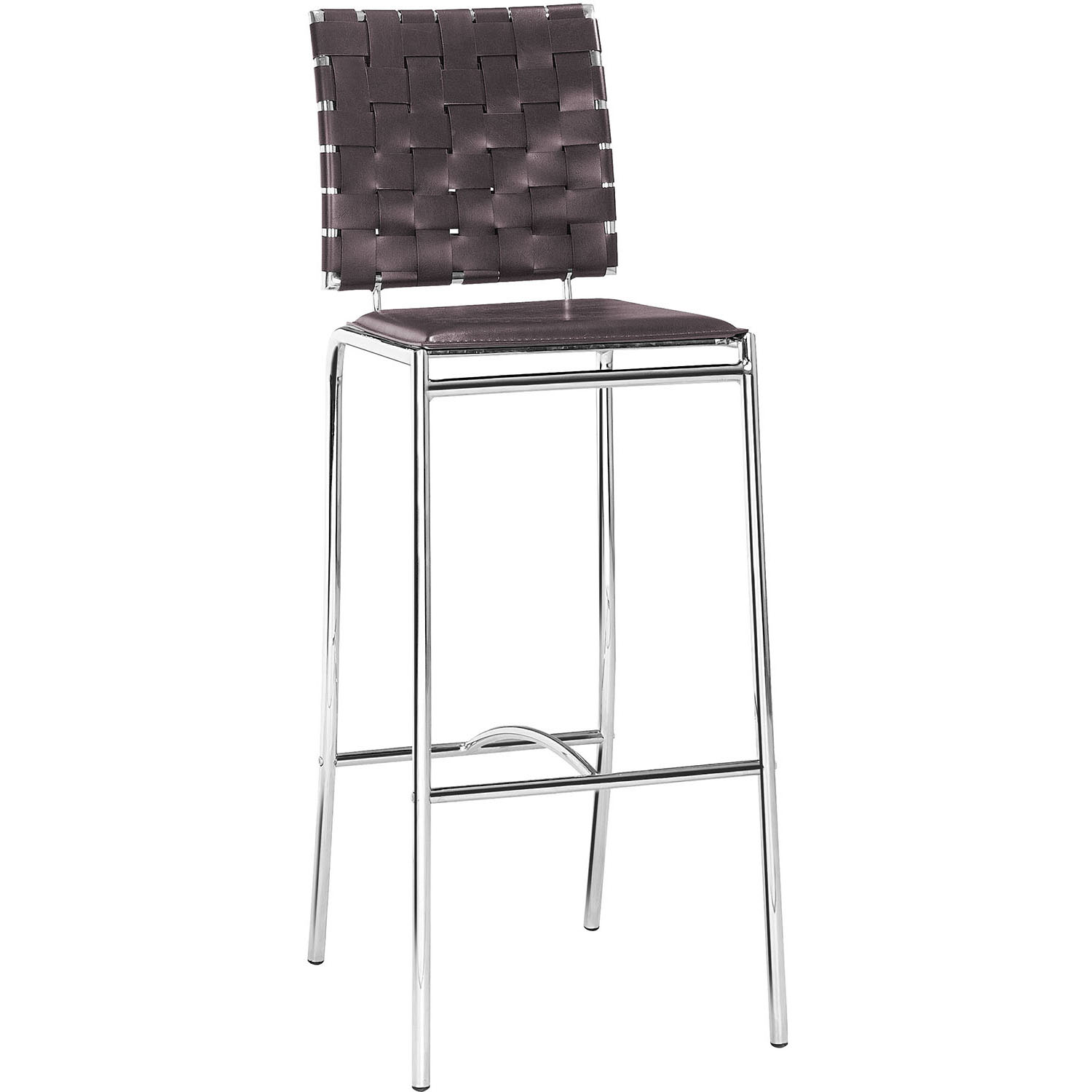 One of a kind Modern Criss Cross Bar Chairs  Product Photo