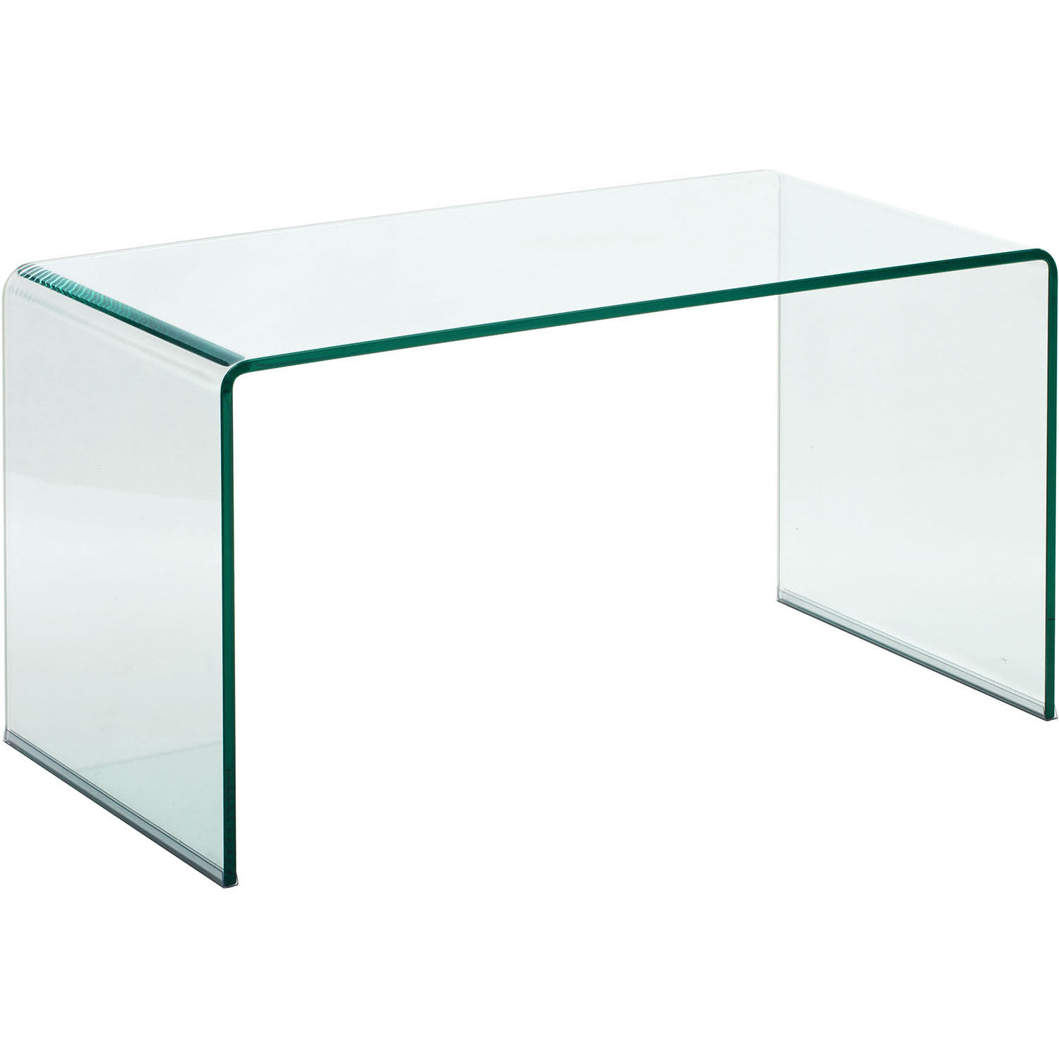Modern Course Coffee Table: Clear