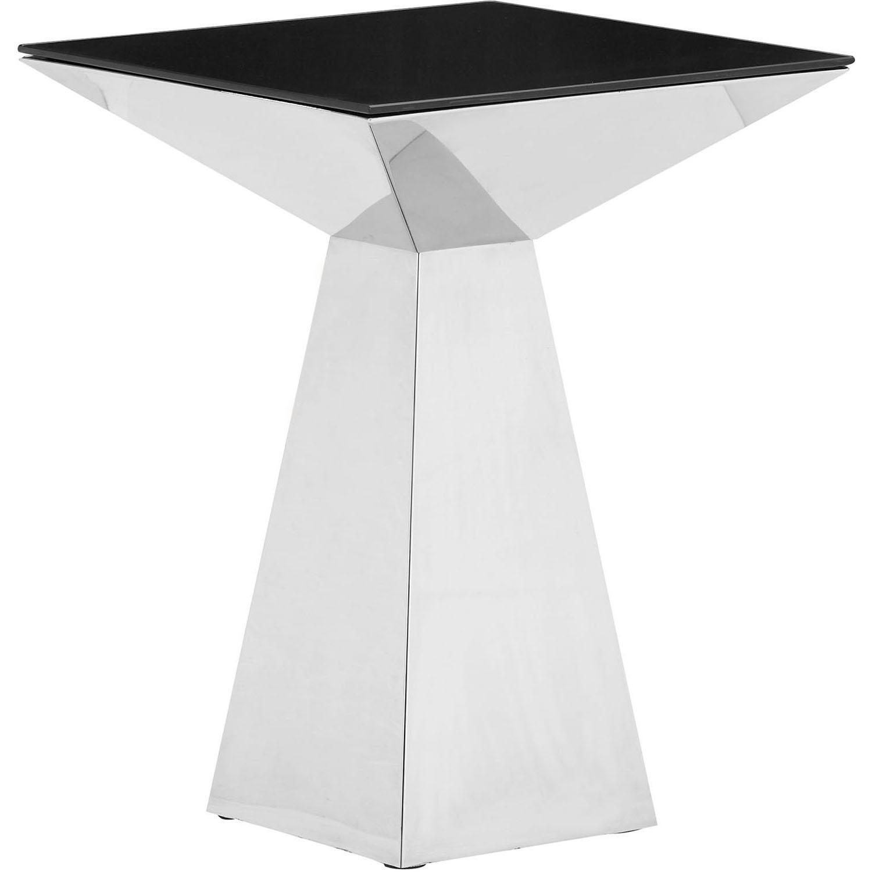 Zuo Modern Tyrell Side Table Black