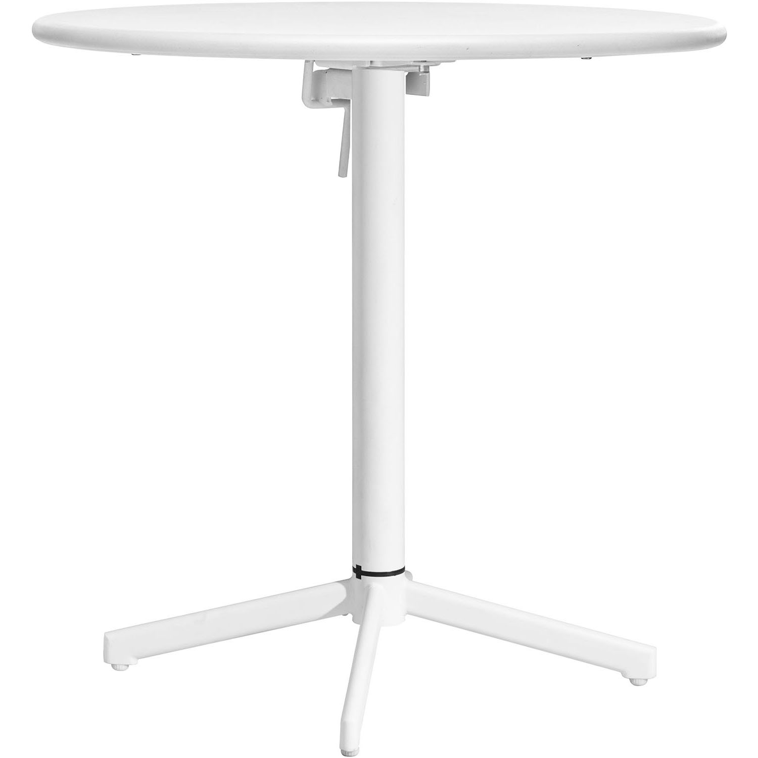 Special Outdoor Big Wave Round Folding Bistro Table Product Photo