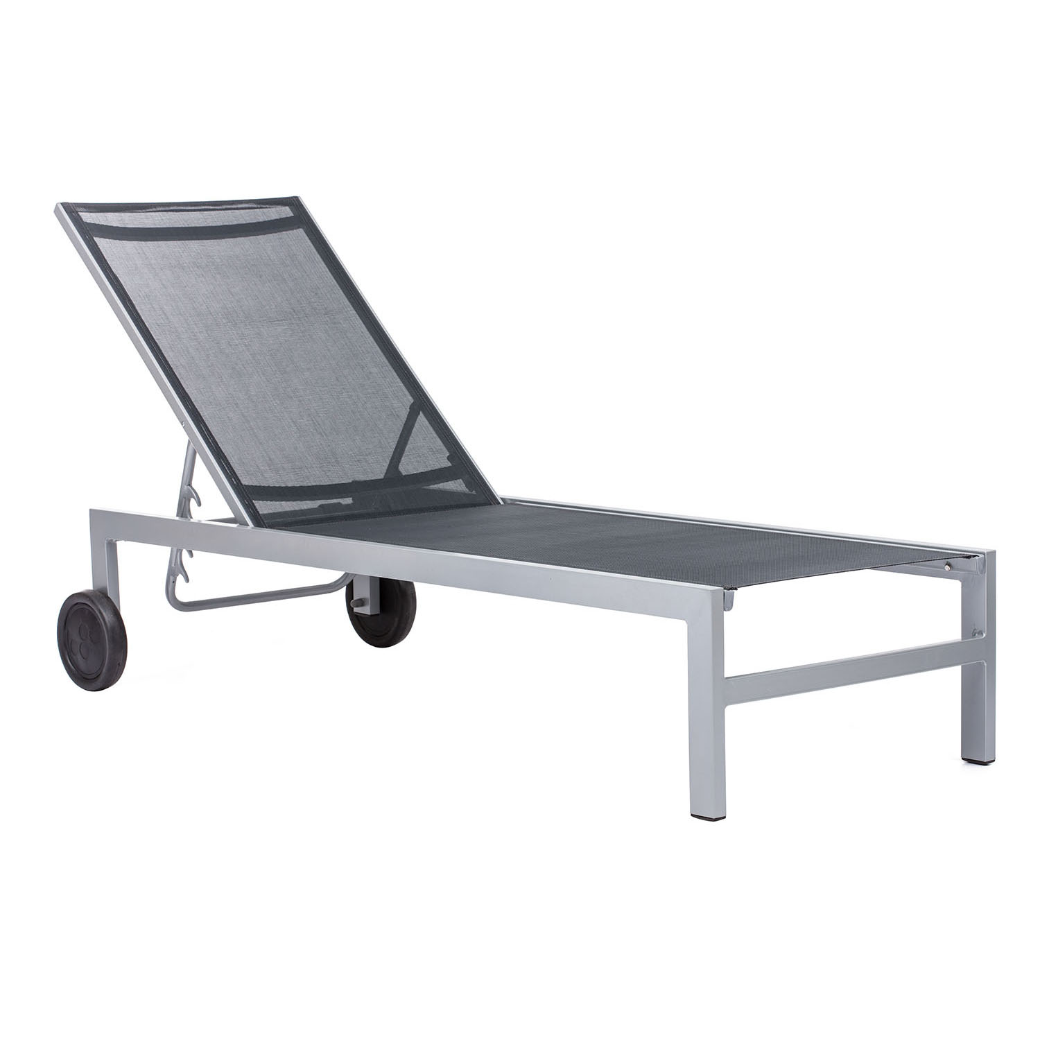 Best-selling Outdoor Castle Peak Rear Wheeled Chaise Lounge Product Photo