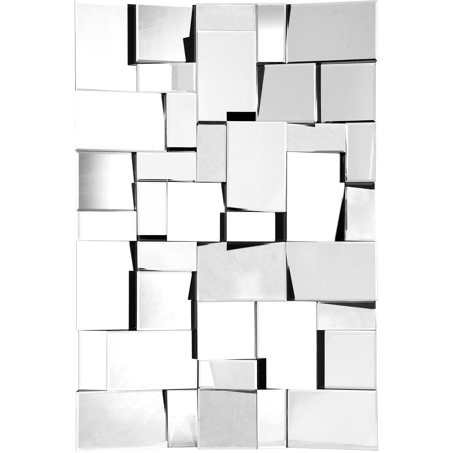 View Pure Fractal Mirror Clear Frame  8 2476