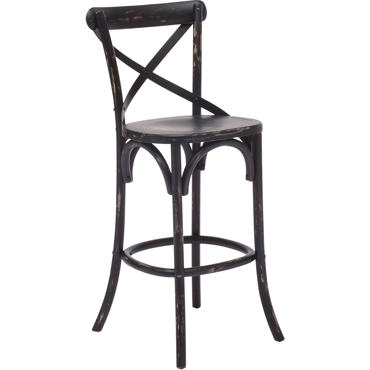 Reliable Era Union Square Bar Chair Wood Options Product Photo