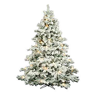 flocked trees - Skinny Christmas Trees Hobby Lobby